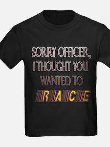 Sorry Officer T