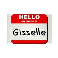 Hello my name is Gisselle Rectangle Magnet