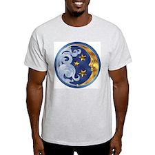 Celestial Moon and Stars T-Shirt