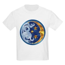 Celestial Moon and Stars T-Shirt