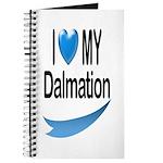 I Love My Dalmation Journal