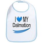 I Love My Dalmation Bib