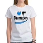 I Love My Dalmation Women's T-Shirt