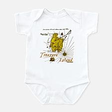 Gold Treasure Island Infant Bodysuit