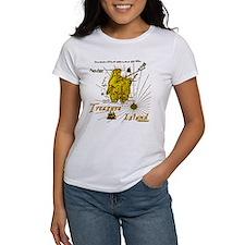Gold Treasure Island Tee