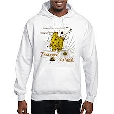 Gold Treasure Island Hoodie