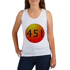 451 Fahrenheit Women's Tank Top