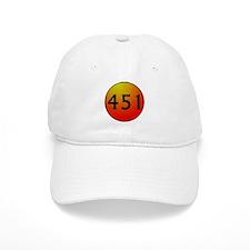451 Fahrenheit Baseball Cap