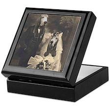 Basset VINTAGE WEDDING Keepsake Box