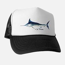 Blue Marlin Trucker Hat