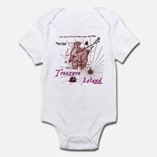 Pink Treasure Island Infant Bodysuit