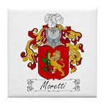 Moretti Family Crest Tile Coaster