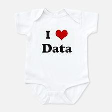 I Love Data Infant Bodysuit