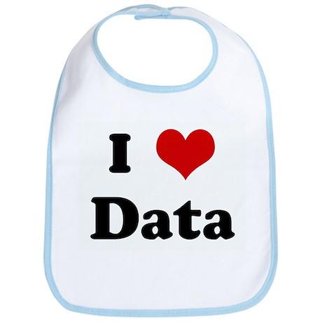 I Love Data Bib
