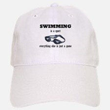 Swimming is a Sport Baseball Baseball Cap