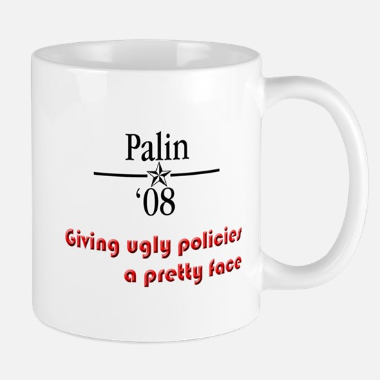 Palin ugly polcies Mug
