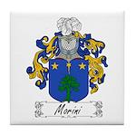 Morini Family Crest Tile Coaster