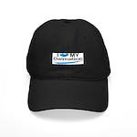 I Love My Dalmation Black Cap
