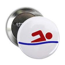 """Swimmer 2.25"""" Button"""