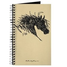 Horse Head Art Journal