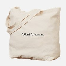 Ghost Caveman Tote Bag