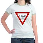 Yield to Temptation Jr. Ringer T-Shirt