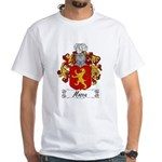 Mosca Family Crest White T-Shirt