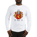 Mosca Family Crest Long Sleeve T-Shirt