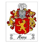 Mosca Family Crest Small Poster