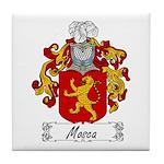 Mosca Family Crest Tile Coaster
