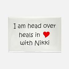 Funny Nikki Rectangle Magnet
