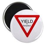 """Yield to Temptation 2.25"""" Magnet (100 pack)"""