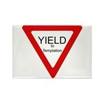 Yield to Temptation Rectangle Magnet (10 pack)