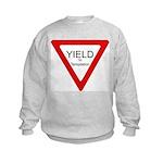 Yield to Temptation Kids Sweatshirt