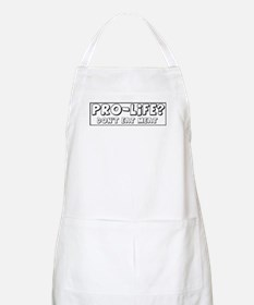 Pro-Life? Don't Eat Meat! BBQ Apron