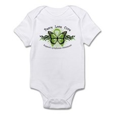 Lymphoma Tribal Butterfly Infant Bodysuit