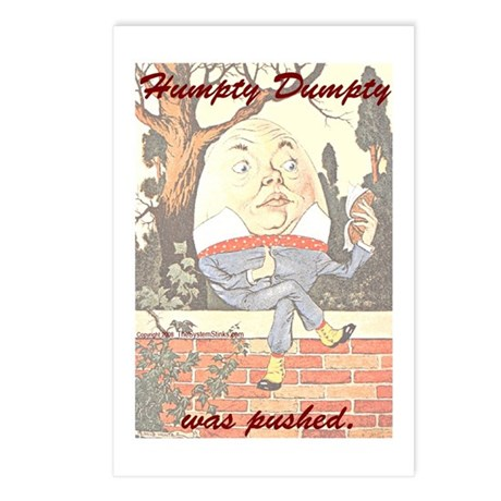 Conspiracy Theory Postcards (Package of 8)