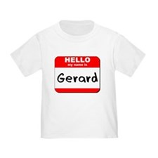 Hello my name is Gerard T