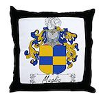 Muglia Family Crest Throw Pillow