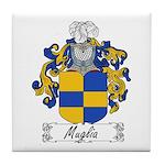 Muglia Family Crest Tile Coaster