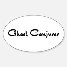 Ghost Conjurer Oval Decal