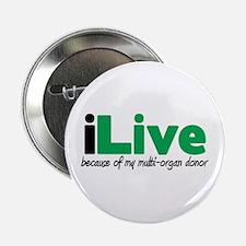 """iLive Multi Organ 2.25"""" Button"""