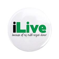 """iLive Multi Organ 3.5"""" Button"""