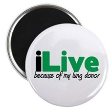 "iLive Lung 2.25"" Magnet (100 pack)"