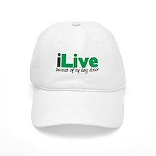 iLive Lung Baseball Cap