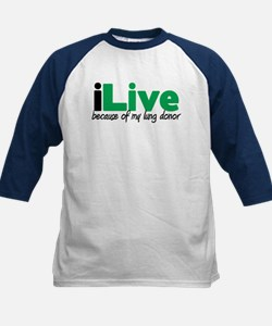 iLive Lung Kids Baseball Jersey