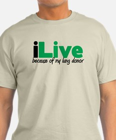 iLive Lung T-Shirt