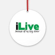 iLive Lung Ornament (Round)