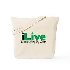 iLive Lung Tote Bag