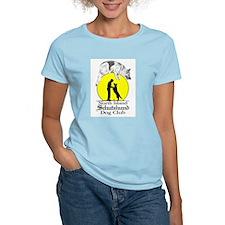 North Island Schutzhund Dog C Women's Pink T-Shirt